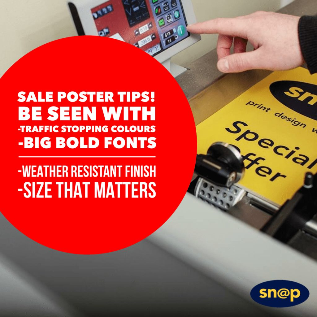 Tips for effective Point of Sale and posters
