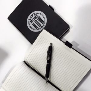 Hardcover notebook with Tab