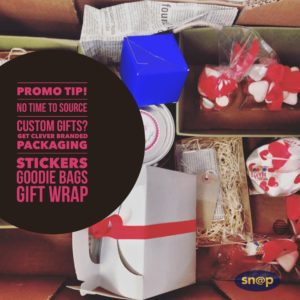 Branded packaging for valentine gifts
