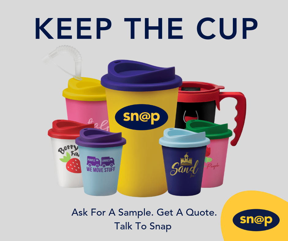 Reusable Coffee Cup - free Sample at Snap