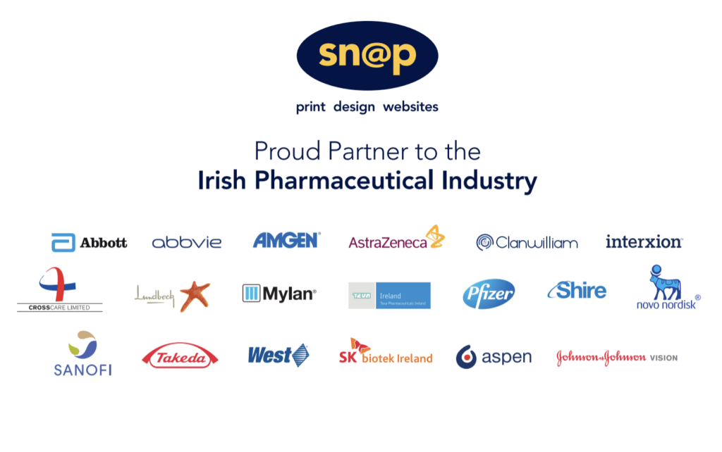 Snap are Proud partners of the Irish Pharmaceutical Industry