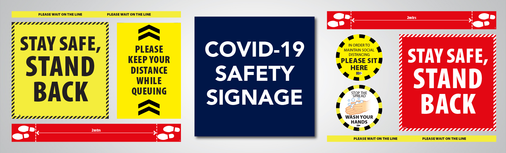 Covid 19 Safety Signage Service