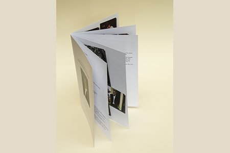 12pg A5 Booklet with White Paper