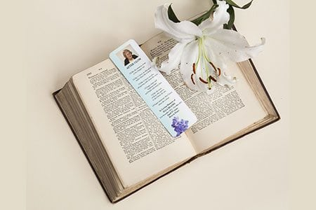 155 x 45mm Color Laminated Bookmark